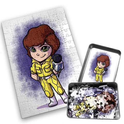 April - Character - 120 Piece Jigsaw Puzzle