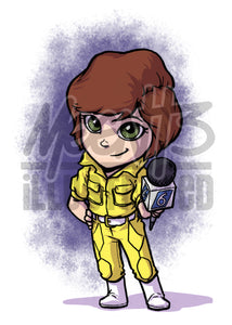 April O'Neil - 5x7 Mini Print