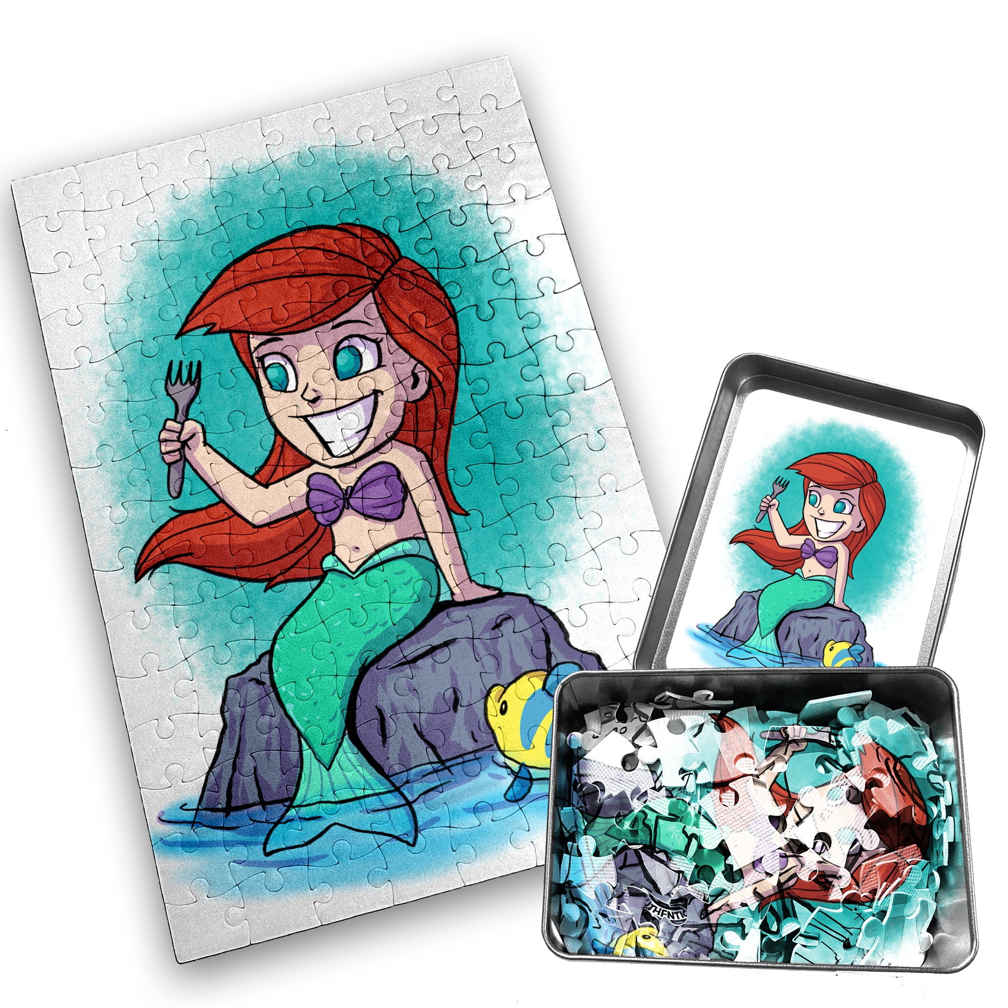 Ariel - Character - 120 Piece Jigsaw Puzzle