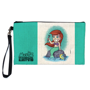 Ariel - Character -Large Pencil/Device Bag