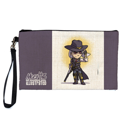 Ashe - Character -Large Pencil/Device Bag
