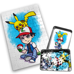 Ashh Pika - Character - 120 Piece Jigsaw Puzzle