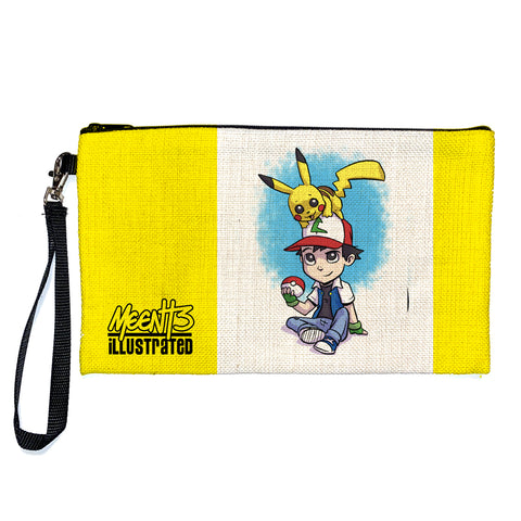 Ashh Pika - Character -Large Pencil/Device Bag