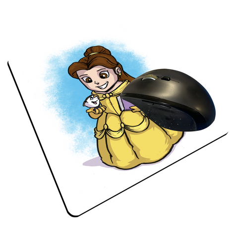 "Belle - Custom ""Thin"" Mouse Pad"