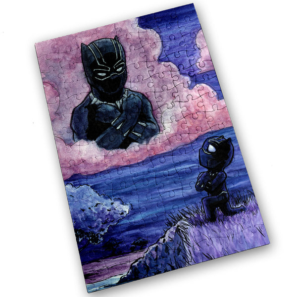 Black Panther - 120 Piece Jigsaw Puzzle