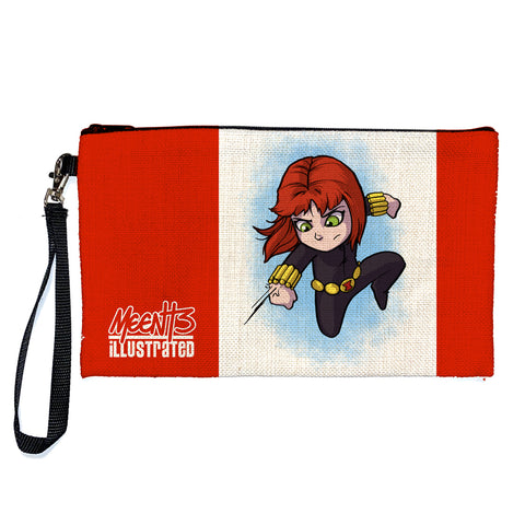 Black Widow - Character - Large Pencil/Device Bag