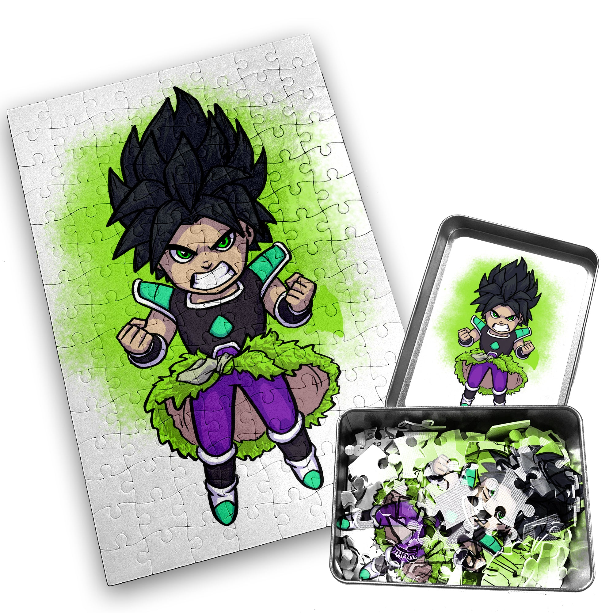 Broly WM - Character - 120 Piece Jigsaw Puzzle