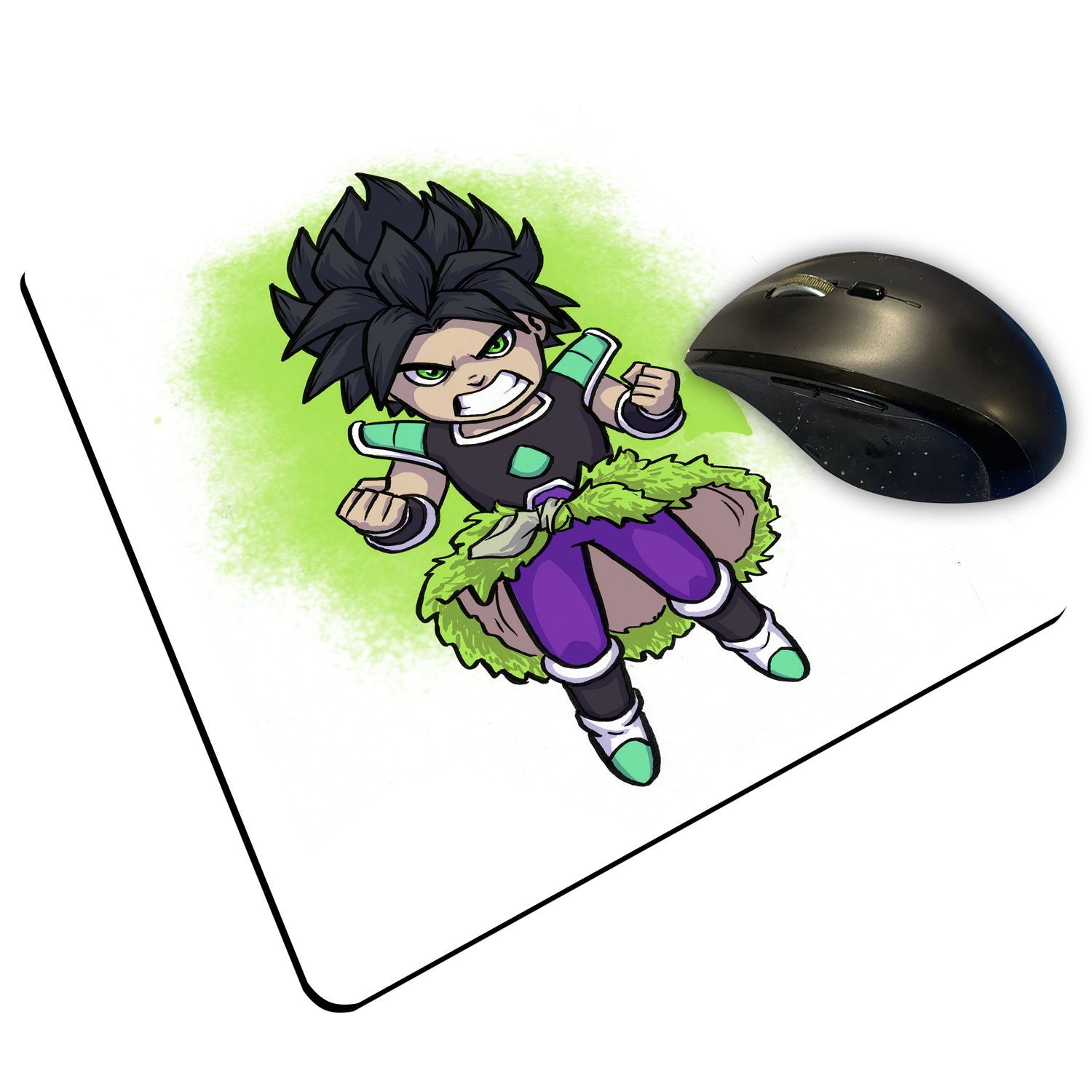 "Broly WM - Custom ""Thin"" Mouse Pad"