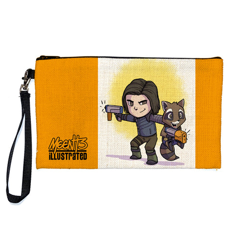 Bucky & Rocket - Character - Large Pencil/Device Bag