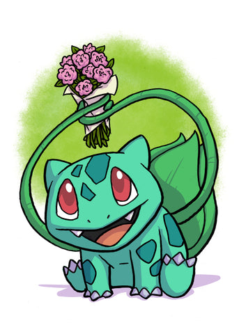 Bulbasaur - 5x7 Mini Print