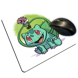 "Bulba Flowers - Custom ""Thin"" Mouse Pad"