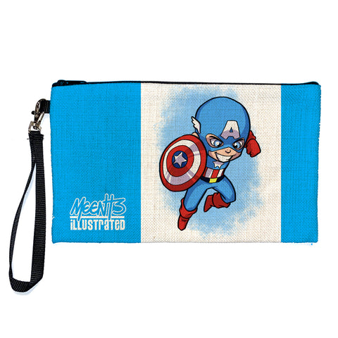 Captain America - Character - Large Pencil/Device Bag