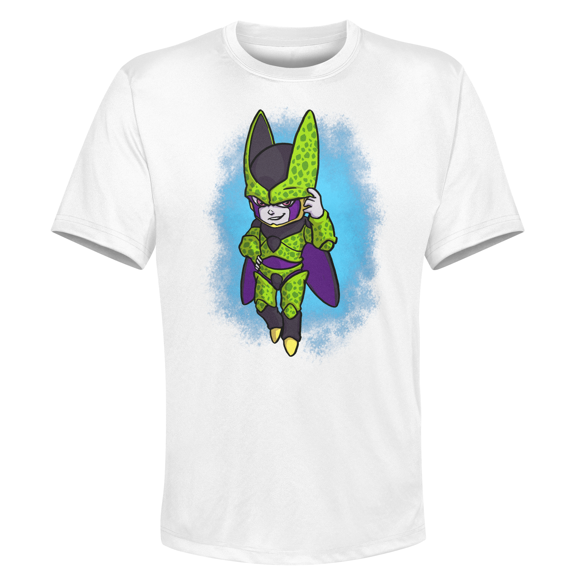Cell - White Performance Graphic Tee
