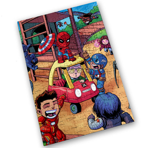 Civil War - 120 Piece Jigsaw Puzzle