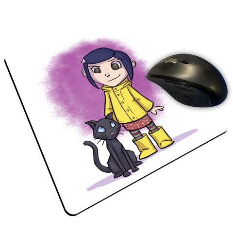 "Coraline - Custom ""Thin"" Mouse Pad"