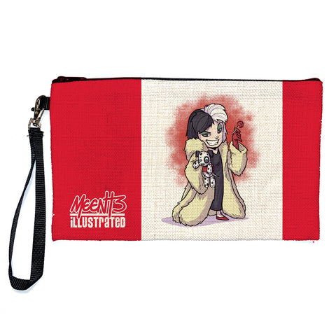 Cruela - Character - Large Pencil/Device Bag