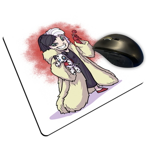 "Cruela - Custom ""Thin"" Mouse Pad"