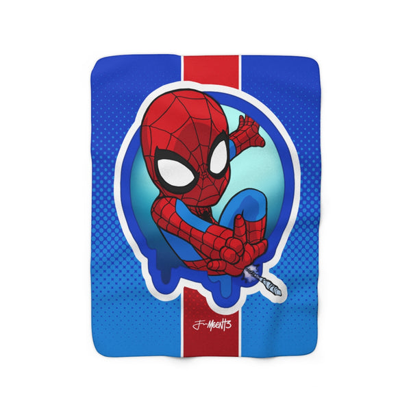 Spidey - Spotlight Series - 50x60 Sherpa Blanket