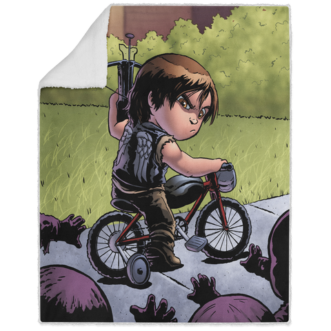 Daryl - Graphic - 50x60 Sherpa Blanket