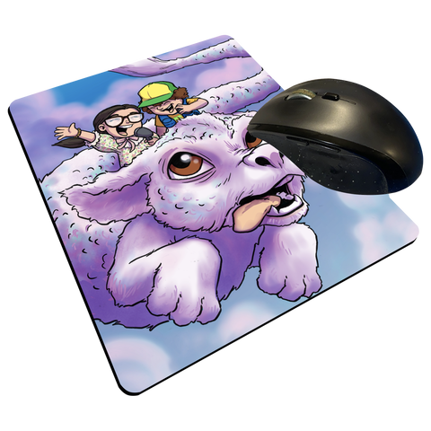 "Dusty & Suzie - Custom Graphic ""Thin"" Mouse Pad"