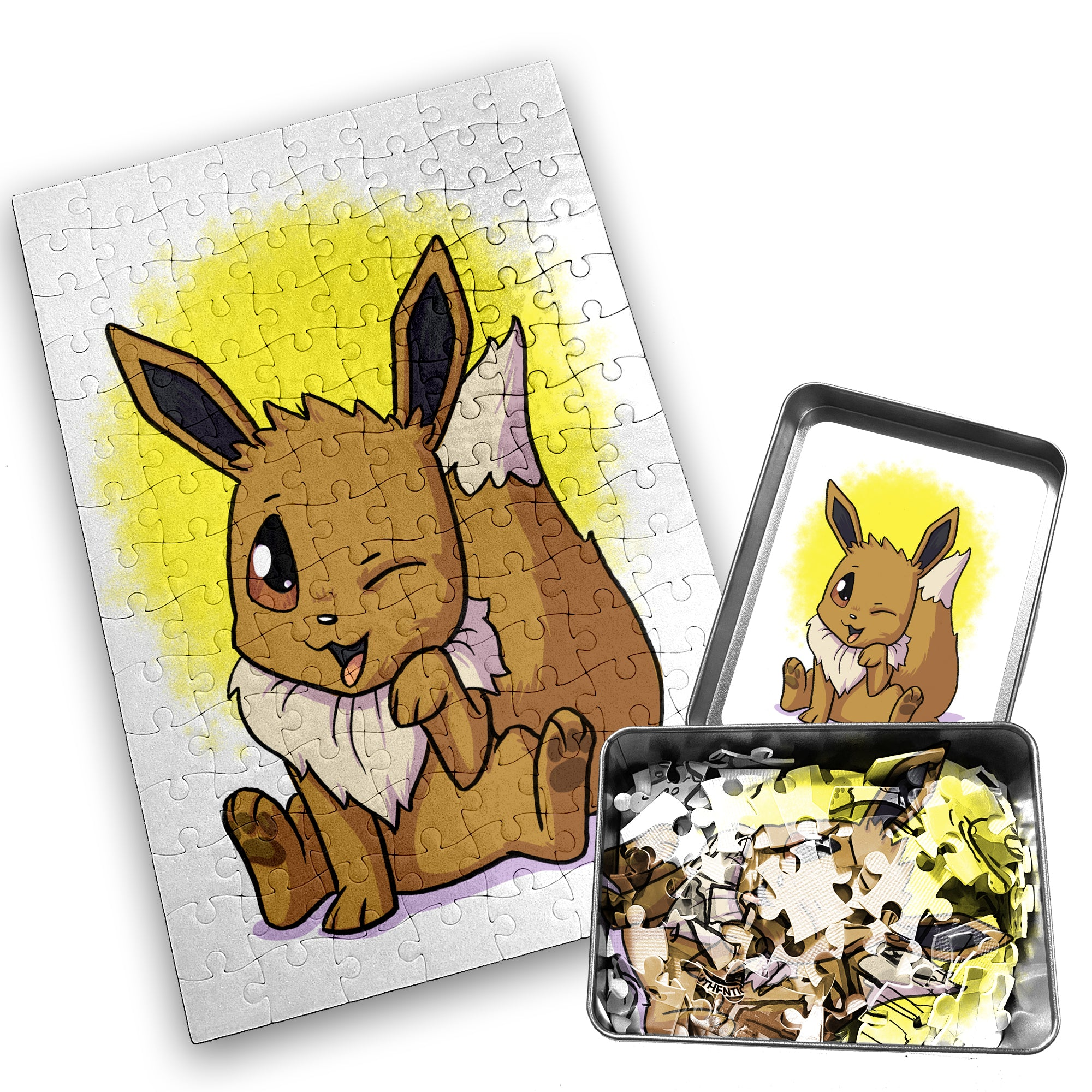 Eevee - Character - 120 Piece Jigsaw Puzzle
