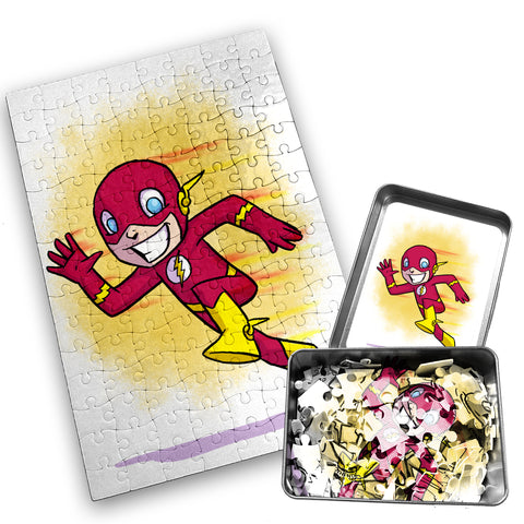 Flash - Character - 120 Piece Jigsaw Puzzle