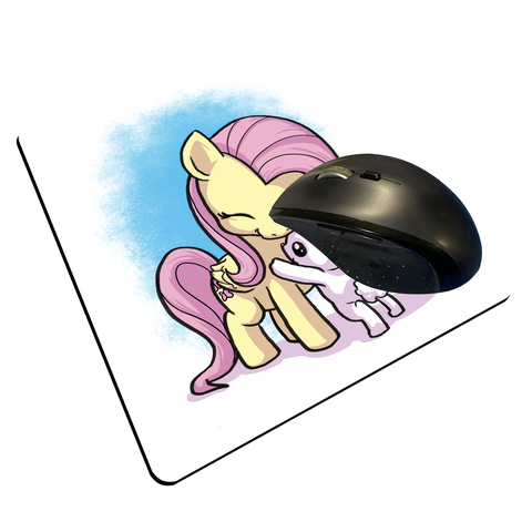 "Fluttershy - Custom ""Thin"" Mouse Pad"
