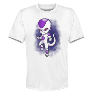 Frieza - White Performance Graphic Tee