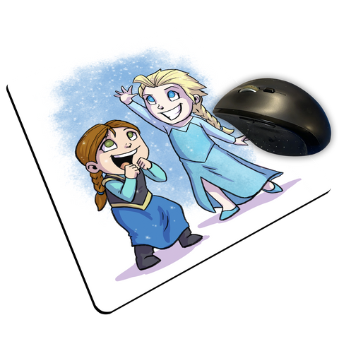 "Frozen - Custom ""Thin"" Mouse Pad"