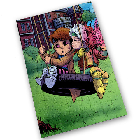 Gambit & Rogue - 120 Piece Jigsaw Puzzle