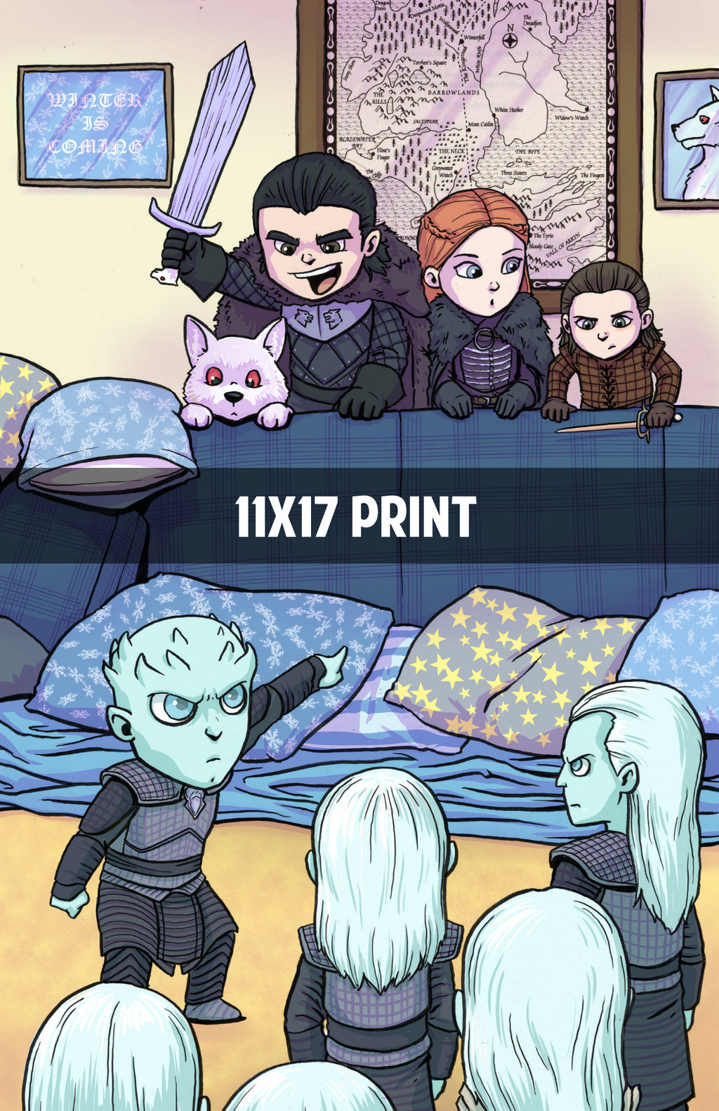 Game of Thrones - The Wall - 11x17 Print