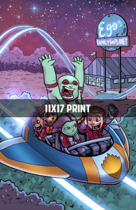 Guardians of the Galaxy Vol 2 - 11x17 Print