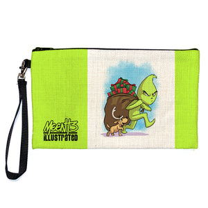 Grinch - Character - Large Pencil/Device Bag