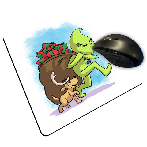 "Grinch - Custom ""Thin"" Mouse Pad"