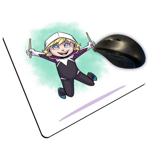 "Gwen - Custom ""Thin"" Mouse Pad"