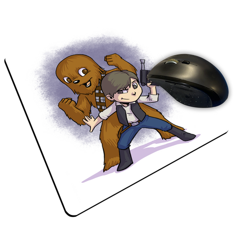 "Han & Chewy - Custom ""Thin"" Mouse Pad"