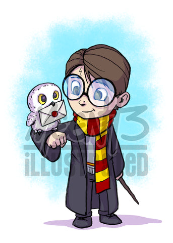Harry - 5x7 Mini Print