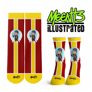 Harry Potter - Character - Streetwear Full Poly Crew Socks