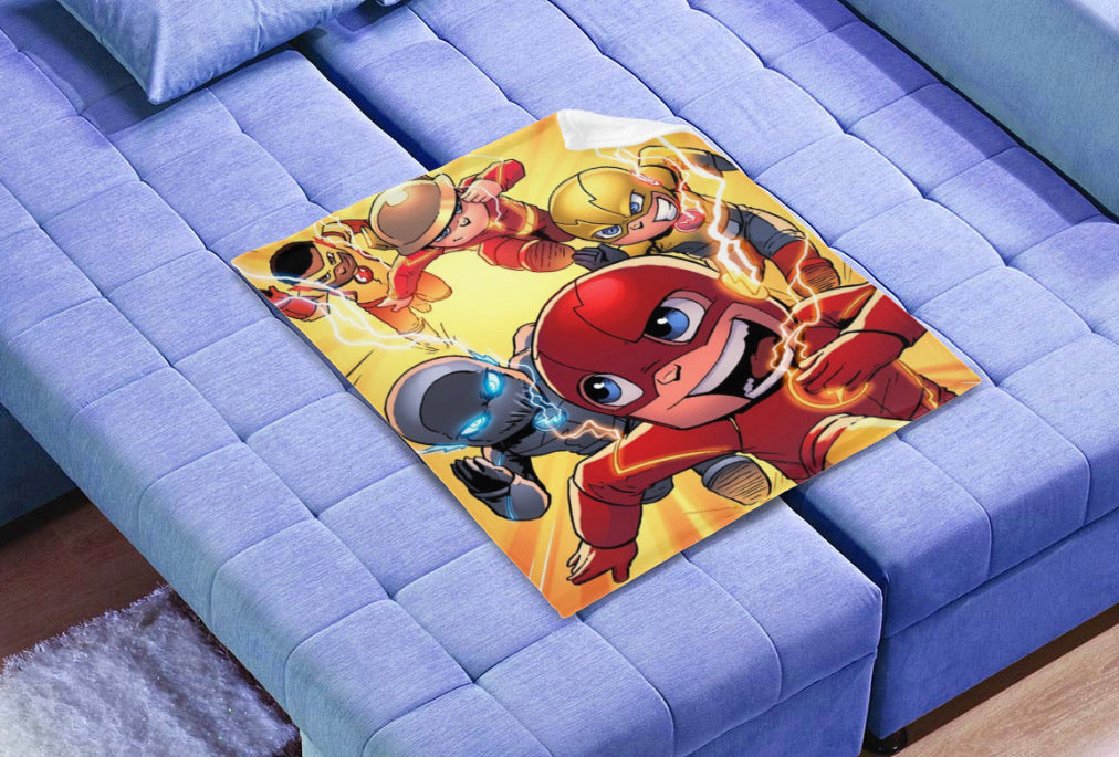 "All Flash 30""x40"" Polar fleece blanket"