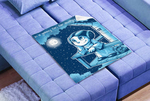 "Princess Leia 30""x40"" Polar fleece blanket"
