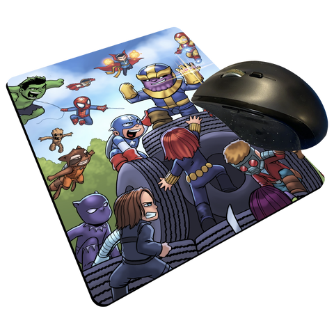 "Infinity War - Custom Graphic ""Thin"" Mouse Pad"