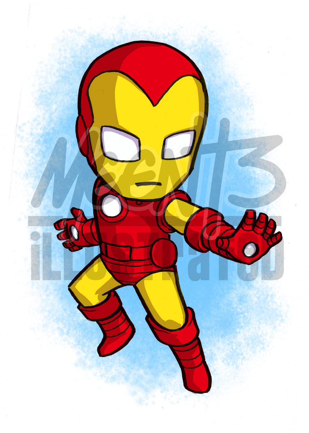 Ironman - 5x7 Mini Print