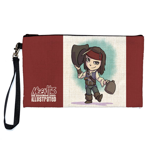 Jack Sparrow - Character - Large Pencil/Device Bag
