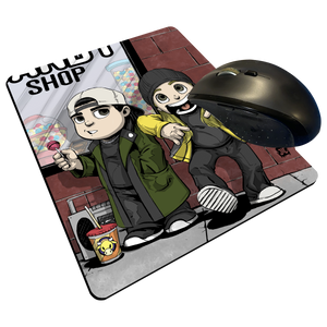 "Jay & Silent Bob - Custom Graphic ""Thin"" Mouse Pad"