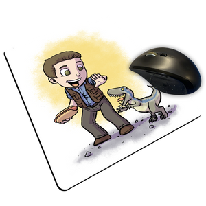 "Jurassic World - Custom ""Thin"" Mouse Pad"