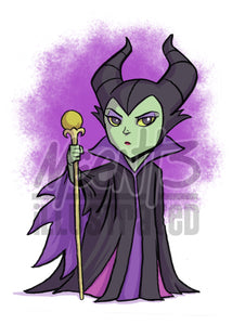 Maleficent - 5x7 Mini Print