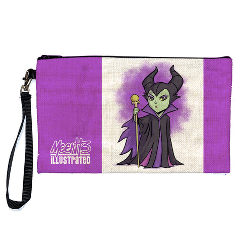 Maleficent - Character - Large Pencil/Device Bag