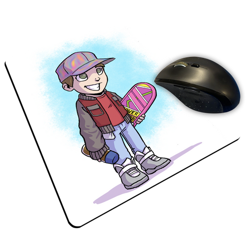 "McFly - Custom ""Thin"" Mouse Pad"