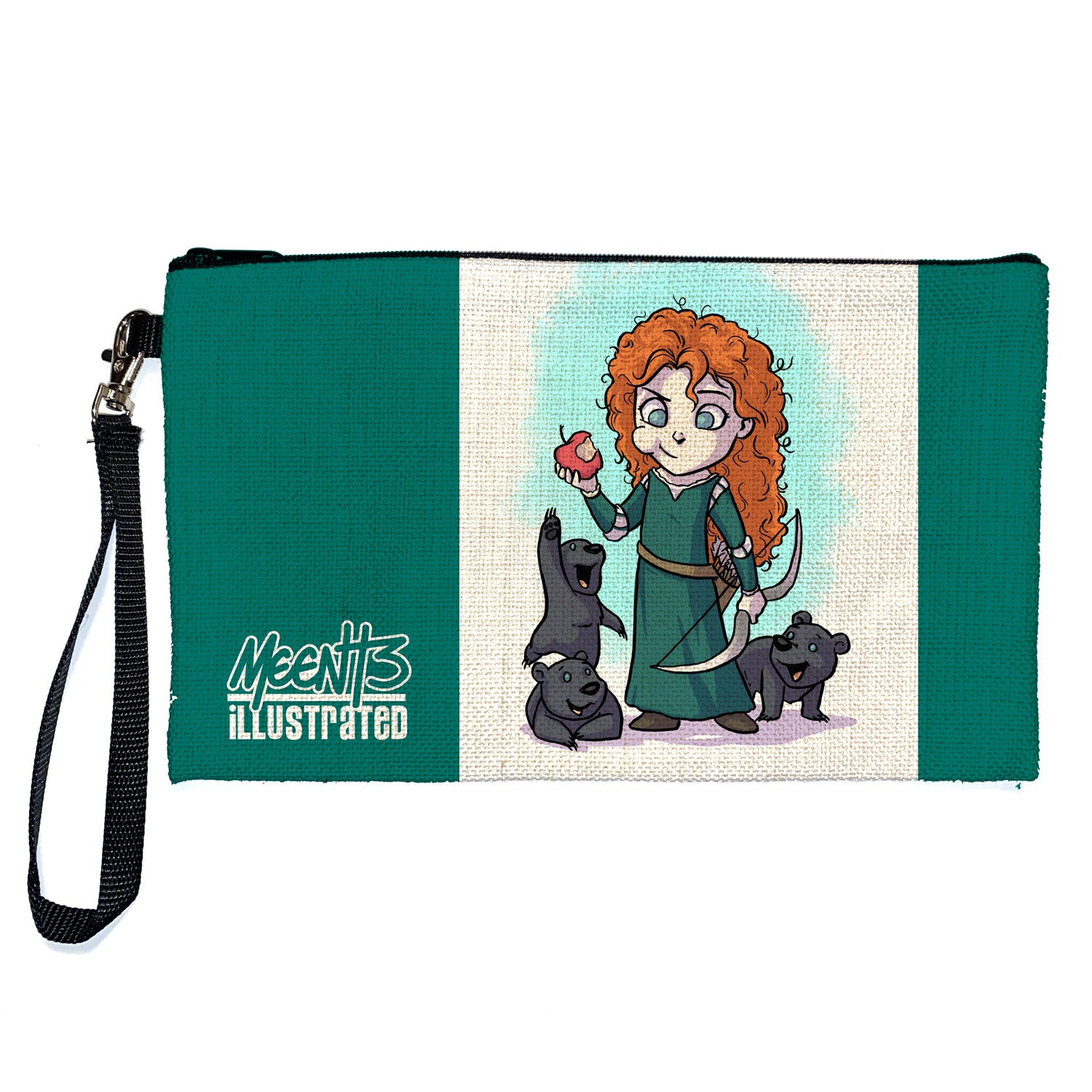 Merida - Character - Large Pencil/Device Bag