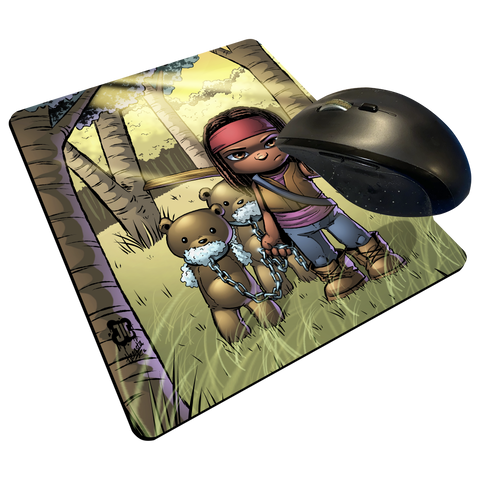 "Michone - Custom Graphic ""Thin"" Mouse Pad"